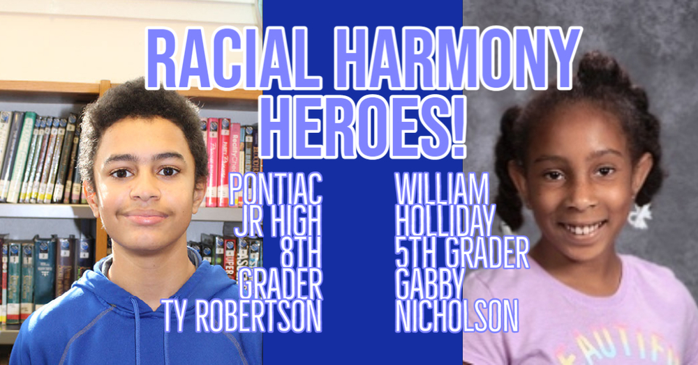 Robertson and Nicholson Recognized as PWH Racial Harmony heroes
