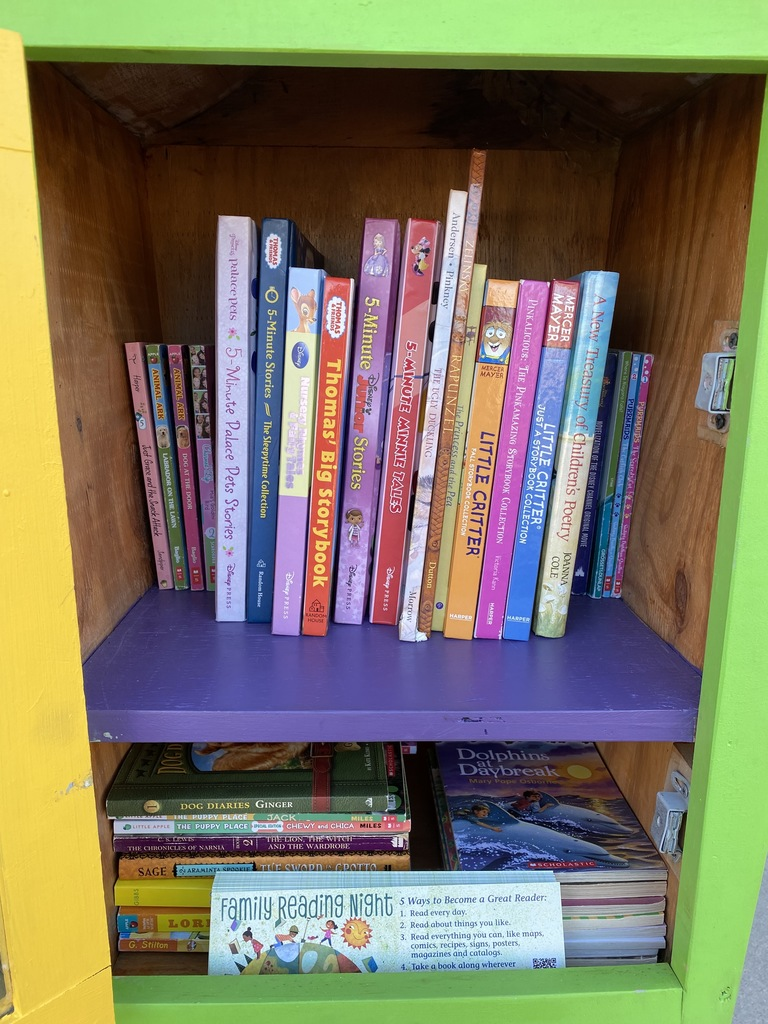 WmH Little Free Library (LFL)