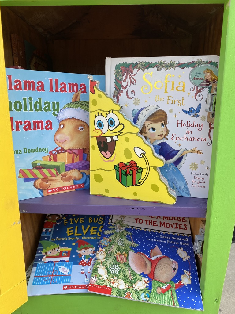 Holiday-themed books!