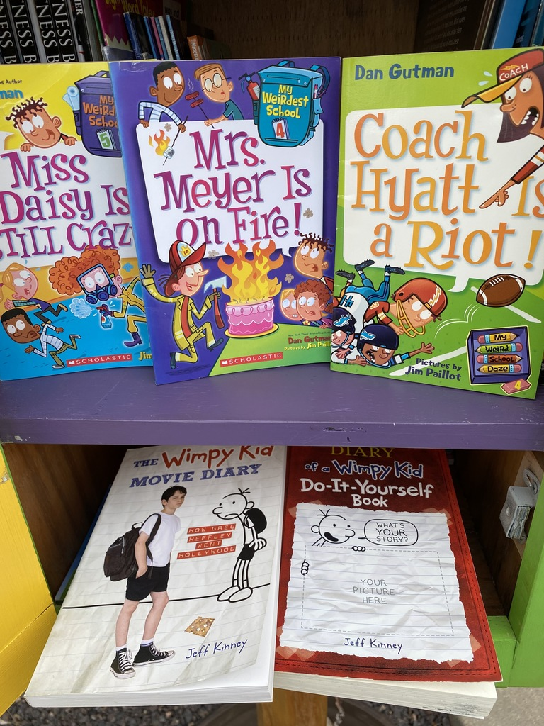 My Weird School and Wimpy Kid