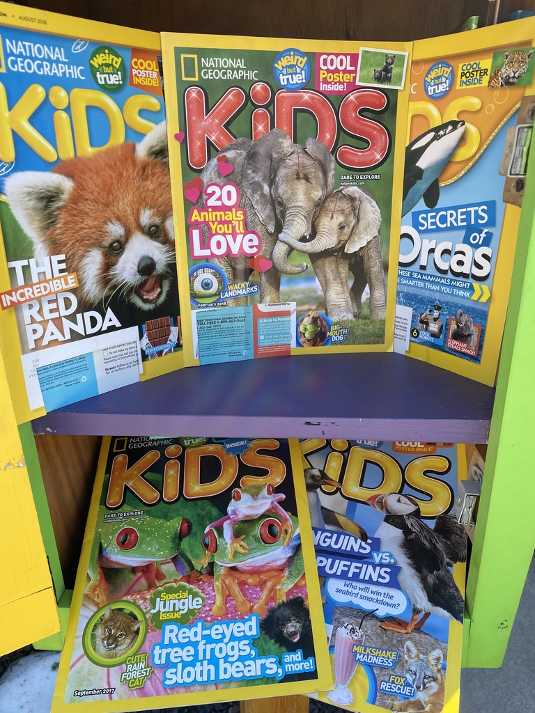 Nat Geo Kids magazines