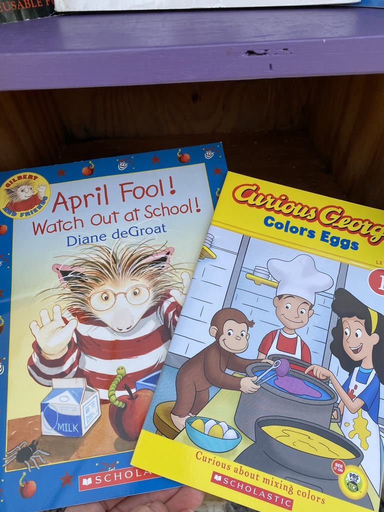 April Fools, Easter book